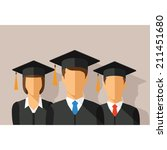 vector education concept with... | Shutterstock .eps vector #211451680