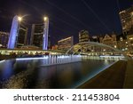 Stock photo nathan phillips square an urban plaza in toronto 211453804