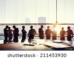 group of business people... | Shutterstock . vector #211453930