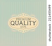 old label vector design   eps 10 | Shutterstock .eps vector #211455499