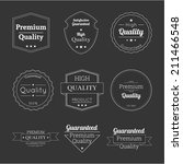 set tags of premium quality and ... | Shutterstock .eps vector #211466548
