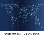 illustration of world... | Shutterstock .eps vector #211485046
