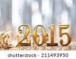 new year decoration 2015. | Shutterstock . vector #211493950
