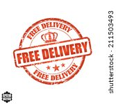 eps10 vector    free delivery... | Shutterstock .eps vector #211503493