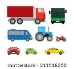 transportation | Shutterstock .eps vector #211518250