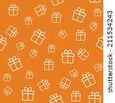 Orange Seamless Pattern With...