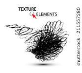 pencil stroke. vector... | Shutterstock .eps vector #211557280