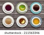 vector illustration. set of... | Shutterstock .eps vector #211563346