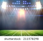 light of stadium | Shutterstock . vector #211578298