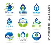water icon set   2 | Shutterstock .eps vector #211583398