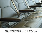 horizontal close up of a row of ... | Shutterstock . vector #21159226