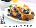 french toast | Shutterstock . vector #211599190