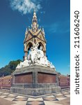 the albert memorial in...