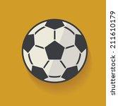 football symbol clean vector | Shutterstock .eps vector #211610179