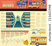 public transportation... | Shutterstock .eps vector #211621948
