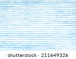 hand painted blue abstract... | Shutterstock . vector #211649326