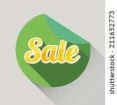 flat design sale discount or...