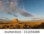 Fajada Butte In Chaco Canyon A...