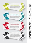 infographic templates for...   Shutterstock .eps vector #211698040