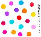 Vector Watercolor Circles...
