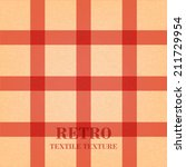 retro textile background with... | Shutterstock .eps vector #211729954