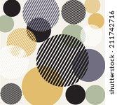 abstract circle design... | Shutterstock . vector #211742716