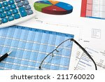 financial audit of the... | Shutterstock . vector #211760020