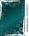 deep blue winter background ...   Shutterstock .eps vector #21179671