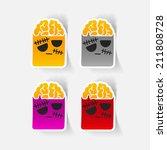 realistic design element  zombie   Shutterstock .eps vector #211808728