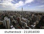hillbrow johannesburg | Shutterstock . vector #211816030