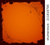 grunge halloween background... | Shutterstock . vector #211818700