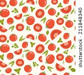 vector seamless pattern with... | Shutterstock .eps vector #211848340