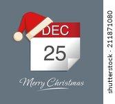 christmas day   Shutterstock .eps vector #211871080