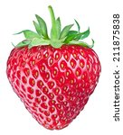 One Rich Strawberry Fruit...
