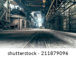 abandoned factory | Shutterstock . vector #211879096