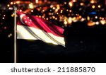 Singapore National Flag City...
