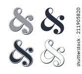 elegant and stylish custom... | Shutterstock .eps vector #211905820