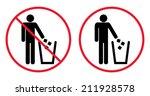 Trash Bin With Human Figure...