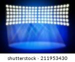 full stage light background  | Shutterstock . vector #211953430