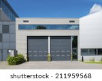 modern industrial unit with... | Shutterstock . vector #211959568