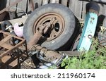 bunch of different parts and... | Shutterstock . vector #211960174