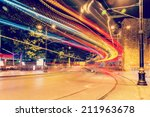 public transport metropolis ... | Shutterstock . vector #211963678