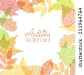 Vector Autumn Background....