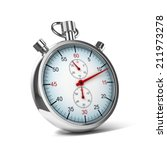 stopwatch 3d illustration | Shutterstock . vector #211973278