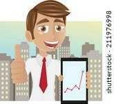 successful young businessman   Shutterstock .eps vector #211976998