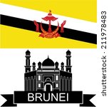 Brunei. Vector Illustration