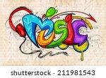 illustration of music...   Shutterstock .eps vector #211981543
