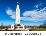 War Memorial at Plymouth Hoe, Devon, England UK Europe