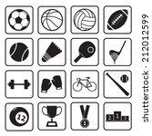 sport icon | Shutterstock .eps vector #212012599