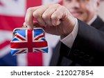 the british economy | Shutterstock . vector #212027854